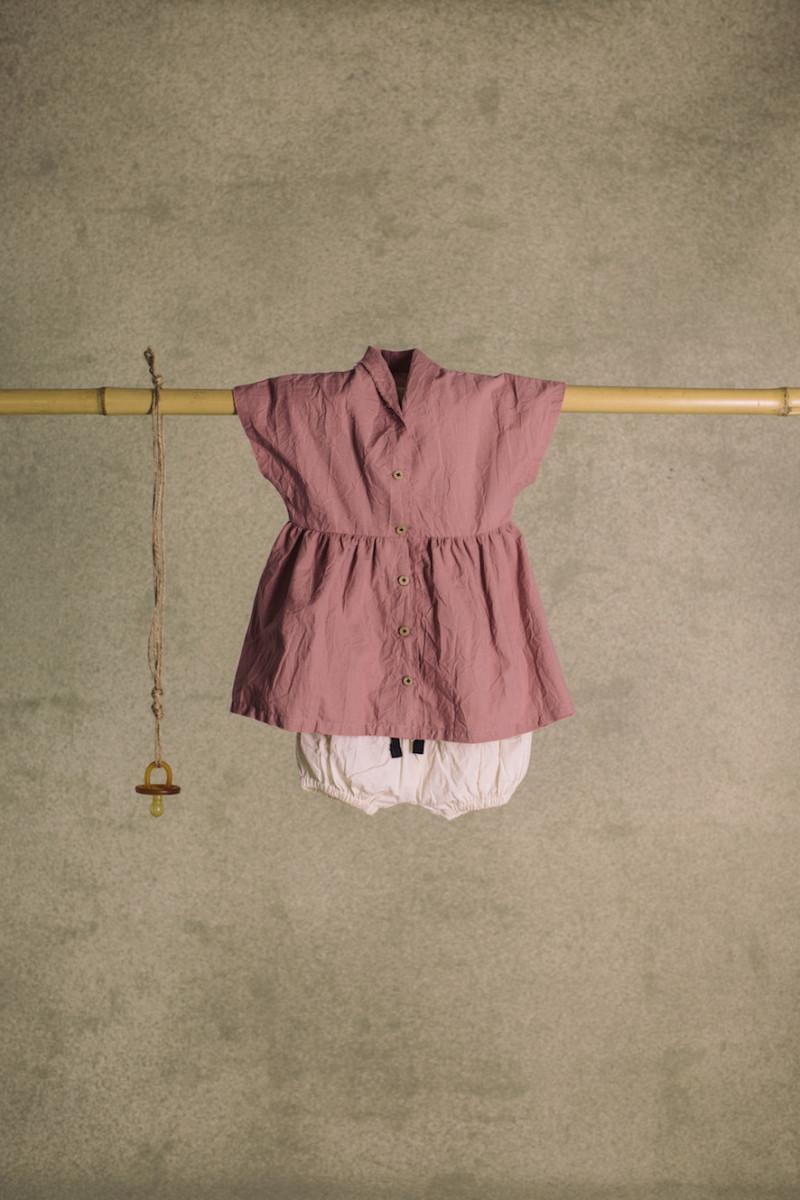 Rose's Velvet Dress - Woman