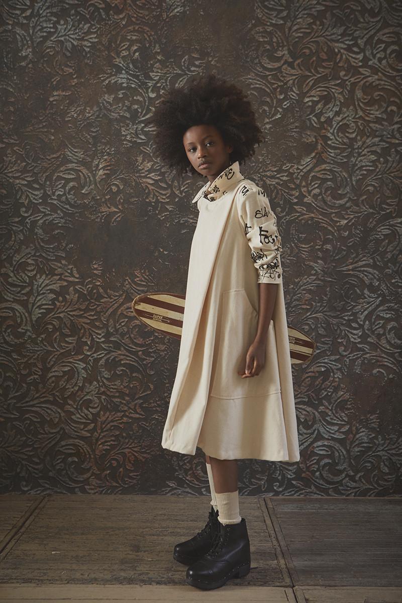 Maria's Turtlenecked Dress - Woman